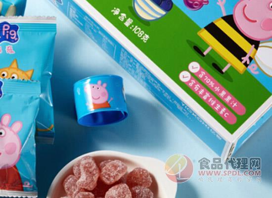 小豬佩奇果汁軟糖價格是多少,好吃又有營養