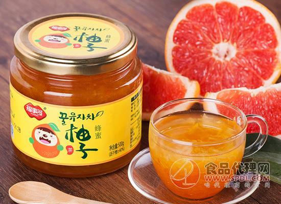 福事多蜂蜜柚子茶好喝嗎,美好生活從一杯果茶開始