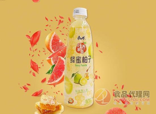 康師傅蜂蜜柚子茶好喝嗎,香味濃郁又甜蜜