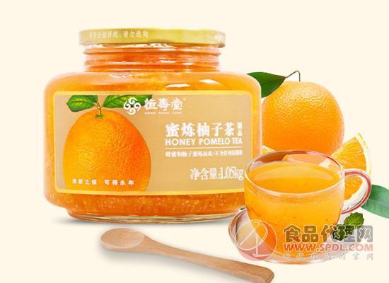 恒壽堂蜂蜜柚子茶怎么樣,每一口都有大顆果肉