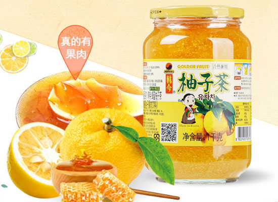 蜂蜜柚子茶哪個品牌好喝,這三款就很不錯