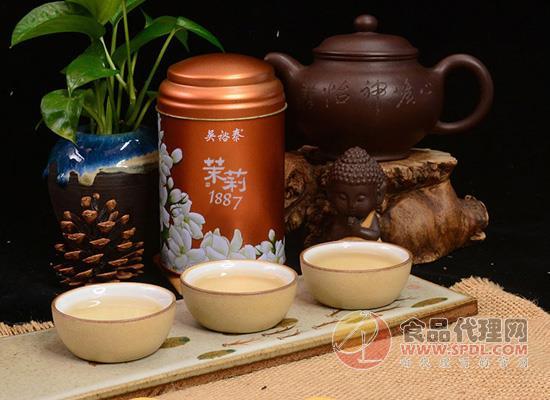 吳裕泰茉莉花茶好在哪里,茶湯清澈如初