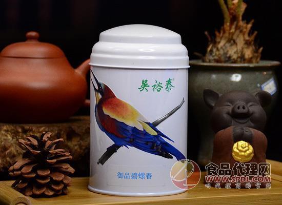 吳裕泰精品明前碧螺春綠茶限量上市,與您共赴一場專屬于春天的約會