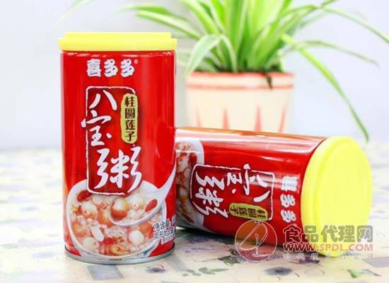 喜多多桂圓蓮子八寶粥價格是多少,好粥需要好原料