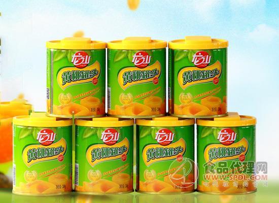 龙山黄桃罐头价格是多少,鲜嫩多汁大小均匀