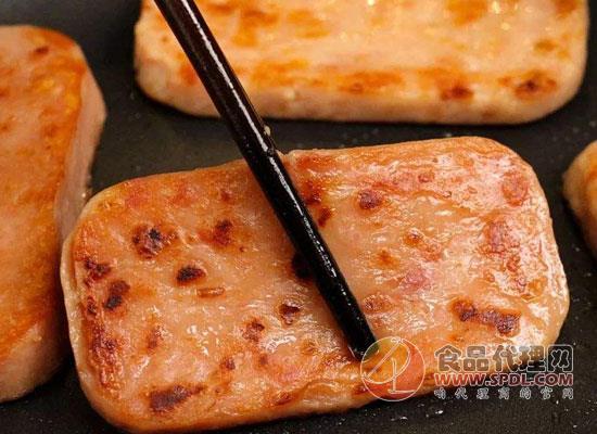 午餐肉罐頭有營養嗎,午餐肉罐頭吃起來健康嗎