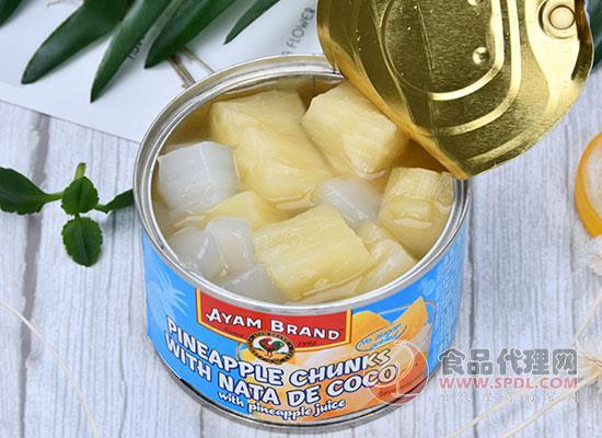 雄鸡标椰果菠萝罐头怎么样,唇齿间蔓延香甜