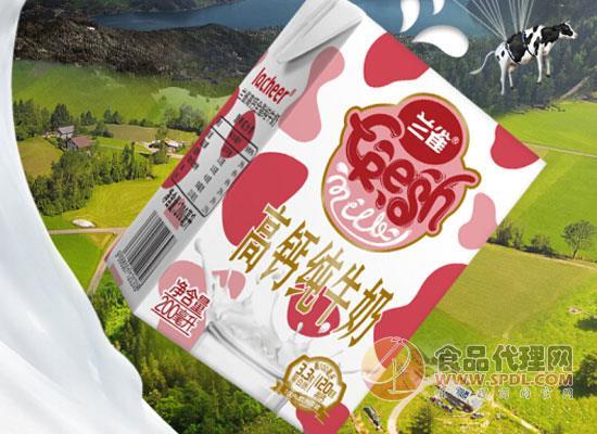 蘭雀全脂純牛奶價格是多少,保護牛奶的新鮮口感