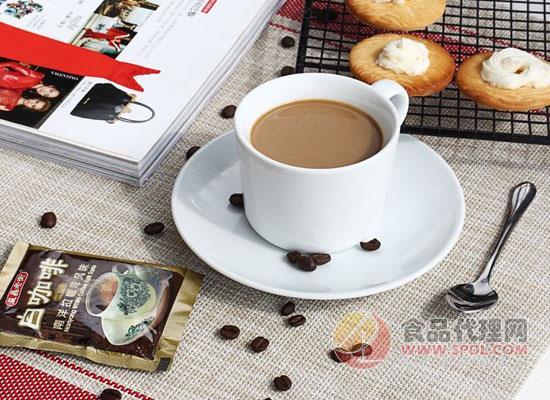益昌老街白咖啡怎么樣,淡淡咖啡香氣