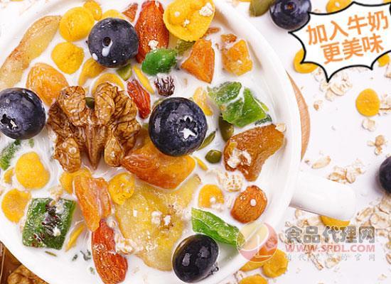益汇坊水果麦片好在哪里,速度与营养美味可以兼得