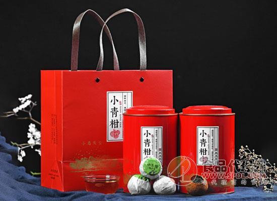 九唐小青柑普洱茶怎么样,浓郁的茶柑香气