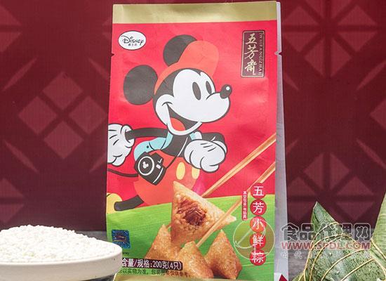 五芳齋速凍粽子價格是多少,精美迪士尼圖案設計