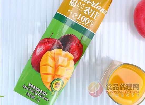 福蘭農莊蘋果汁好在哪里,好喝因為原產