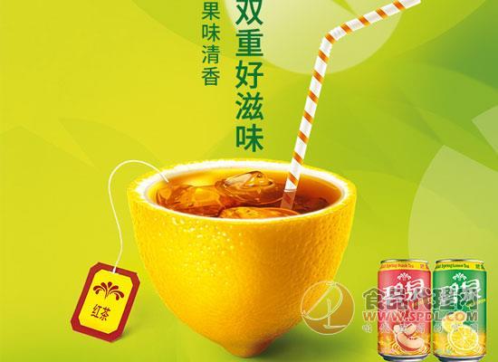 碧泉柠檬茶饮料怎么样,给你双重好滋味