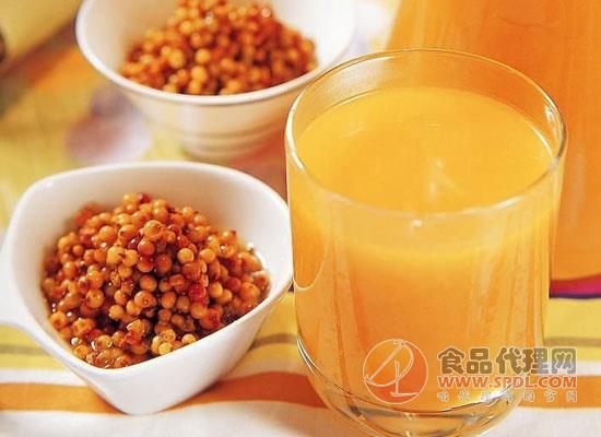 沙棘汁是什么做的,沙棘汁對身體有好處嗎