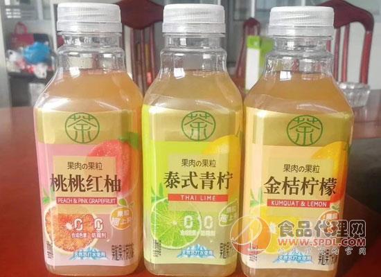 """茶飲市場再添""""實力選手"""",中沃推出果粒果汁茶飲料"""