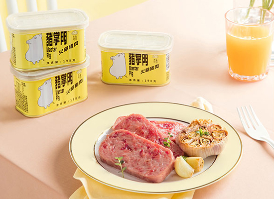 豬掌門午餐肉罐頭好吃嗎,帶來味蕾上的滿足