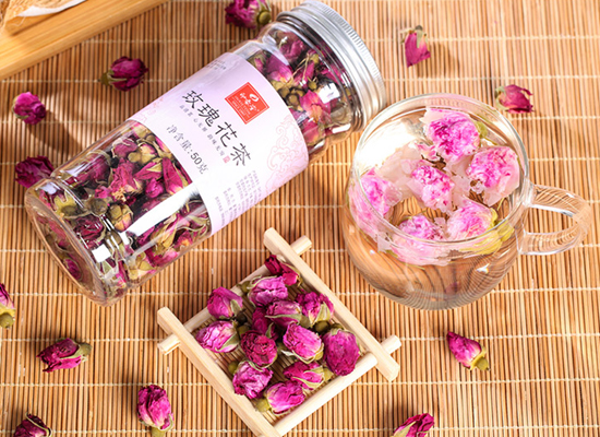 印象堂玫瑰花茶多少钱,花朵饱满均匀