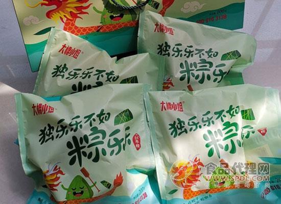 大棉小姐速冻粽子怎么样,好吃因为精心选材