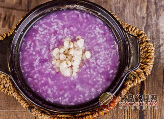 紫薯粥怎么做比较好吃,紫薯粥的做法分享