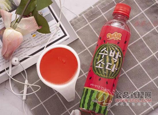 噢嗼西瓜味碳酸饮料多少钱,夏季必备解暑饮品