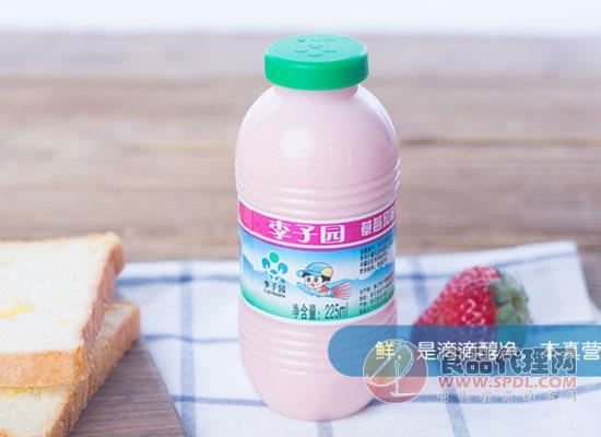 李子园草莓风味乳饮料多少钱,精选新生乳牛中的佼佼者