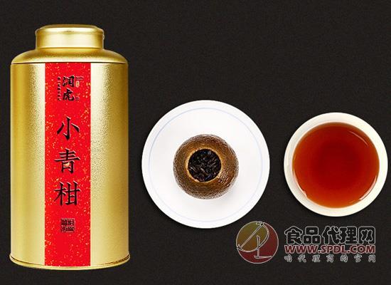 潤虎小青柑普洱茶好在哪里,柑橘香撲鼻而來