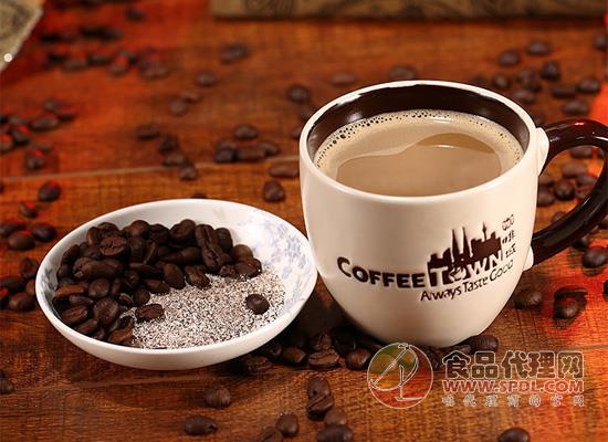 咖啡城白咖啡好在哪里,健康与口感兼得