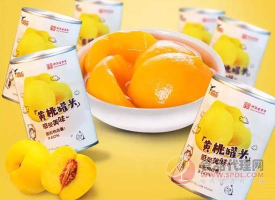 鹰金钱黄桃罐头怎么样,锁住新鲜黄桃的香味