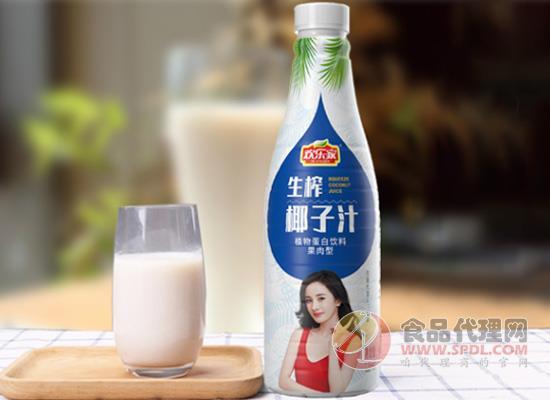 欢乐家椰子汁口感如何,滴滴新鲜美味