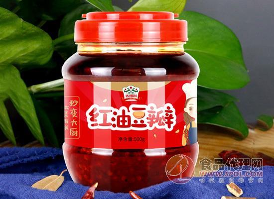 吉得利紅油豆瓣醬價格是多少,滿滿四川風味