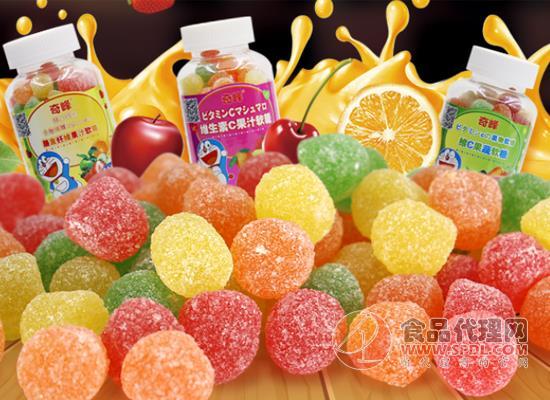 奇峰維c果汁軟糖價格是多少,每一口都像喝果汁