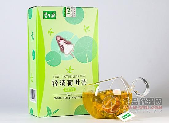 碧生源轻清荷叶茶怎么样,让原料清晰可见