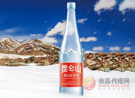 昆侖山礦泉水多少錢一瓶,來自海拔6000米昆合雪山