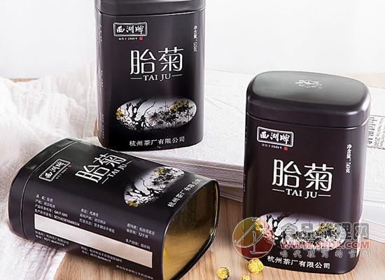 西湖菊花茶好在哪里,采用古法蒸汽殺青工藝