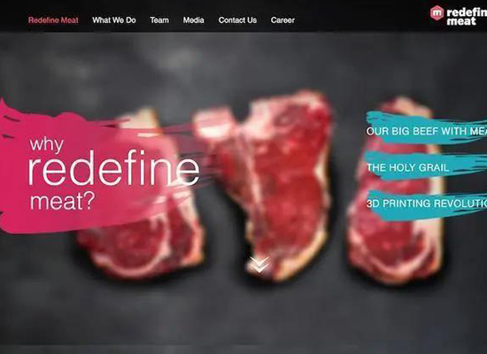 以色列Redefine Meat推出3D打印牛排