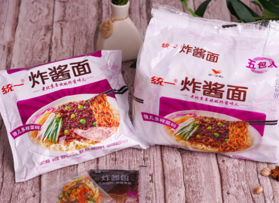 統一炸醬面價格是多少,地道老北京風味