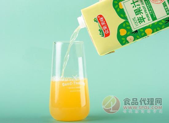 眾果美味蘋果汁好喝嗎,鮮果壓榨不添加