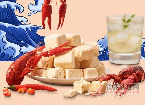 伊利再推新品,小龍蝦口味酸奶塊和餐后輕盈酸奶上市