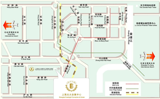 2021第12屆上海國際餐飲食材博覽會交通路線