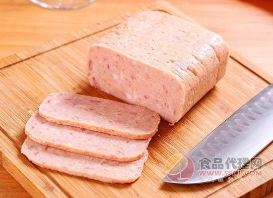 午餐肉罐頭打開后怎么保存,這種方法你需要知道
