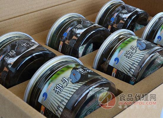 大海邊獨頭黑蒜價格,精美包裝的禮盒黑蒜