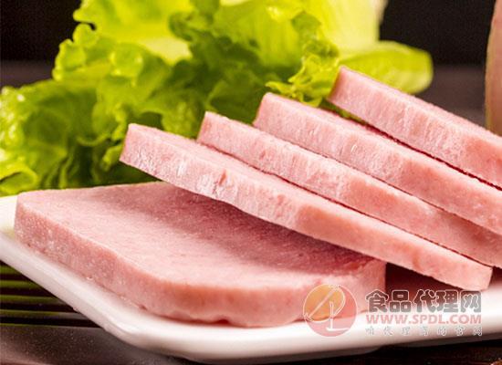 德和午餐肉罐頭好吃嗎,如何快速打開午餐肉罐頭