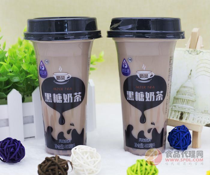 乐比乐风味奶茶产品种类丰富,畅销市场,火爆终端