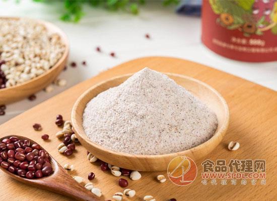 红豆薏米粉搭配什么喝比较好