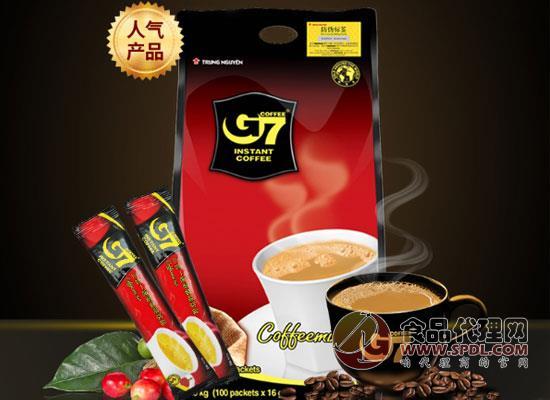 g7速溶咖啡價格,三合一的速溶咖啡