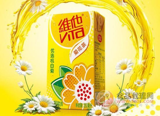 維他菊花茶飲料價格,有料更滋潤