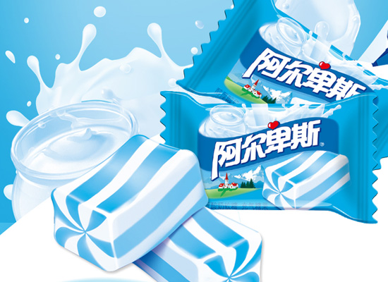 阿尔卑斯牛奶软糖价格是多少,三种不同口味