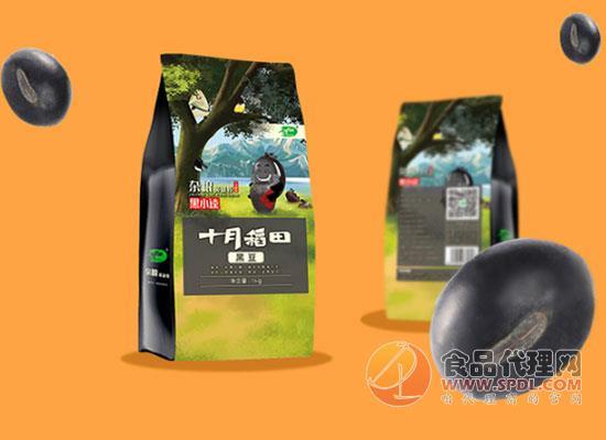 十月稻田黑豆多少钱,粒粒饱满营养丰富