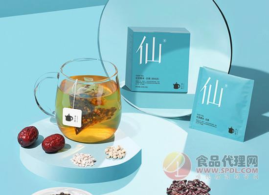 茶小壶红豆薏米茶好喝吗,淡淡白茶香